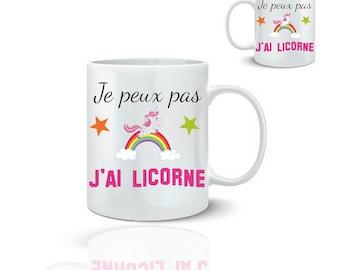 Mug I can't I Unicorn mug-ceramic 325 ml