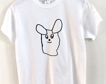 Frederick Mouse Fan Art Screen Printed T-Shirt