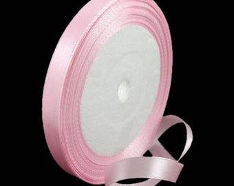 23 meters of pink 10 mm Satin Ribbon