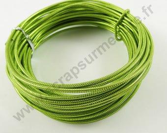 Aluminum wire Ø 2 mm x 10 m - Apple green-
