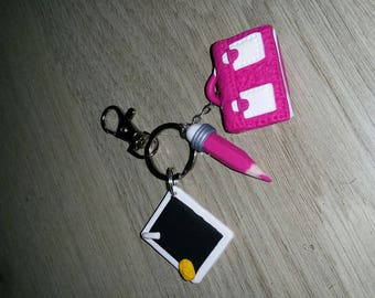 school Keyring ideal gift for teachers and masters