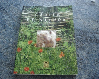 Arielle Parker and Michel Le Louarn Edition of Garde-Temps NATURE notebook