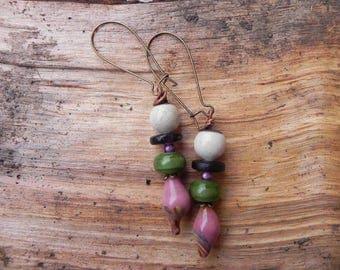 Beautiful dangling earrings model single