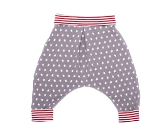 Baby boy girl chic and comfortable cotton jersey harem pants