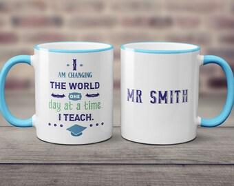 teacher mug end of year teacher gift mug for male teacher personalised teacher mug coffee mug for teacher