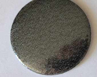 Black sequined pattern Pocket mirrors