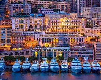 Monaco at Twilight