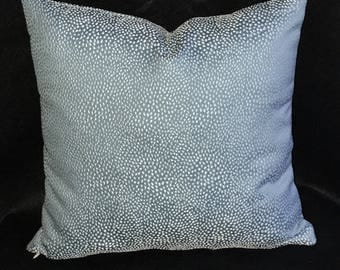 Misty Blue Pillow Cover