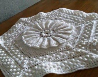 Crochet Doilies set of 4 Free Shipping