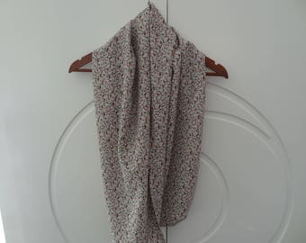 Snood, neck, circular scarf