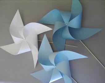 Lot de 4 moulins à vent 15x15