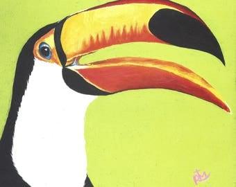 Happy Toucan