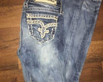 Rock Revival Skinny Jeans size 25