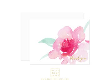 C101 First Rose Note Cards