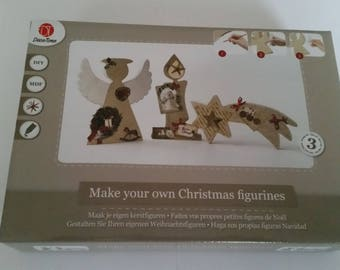 Deco-time Kit to make your own little Christmas figures
