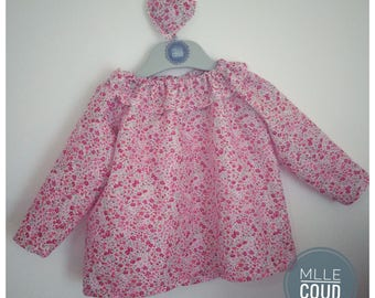 Blouse LIBERTY child 2 years to the 8 years