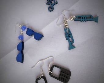 """the Earrings from the collection """"Hobbies"""" Creat'Y. O.N"""