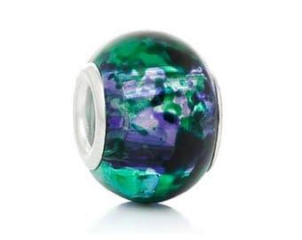 2 x Pandora compatible glass beads