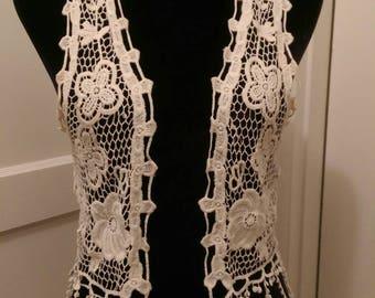 Crochet Hippy Style Blouse Vest