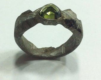 Meteorite ring Munionalusta size 9.5