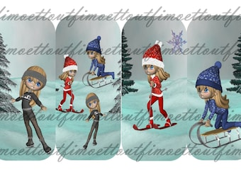 4 bookmarks digital sport miss d hiver(envoi mail)