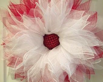 Delta Sigma Theta Wreath