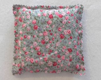 Heating pad in cores in liberty fabric cherry pink