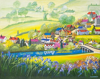 Grindleford from Haywood - Prints & Cards