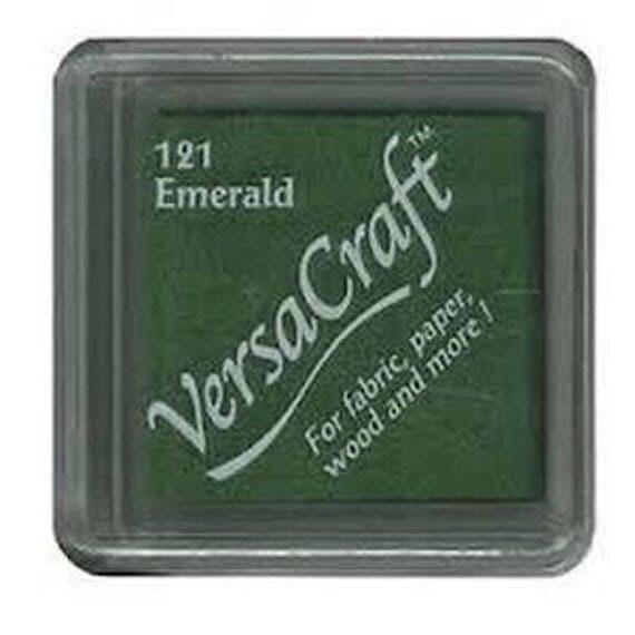 Emerald VERSACRAFT ink - Green - fabric and wood
