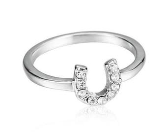 Horse Shoe Ring
