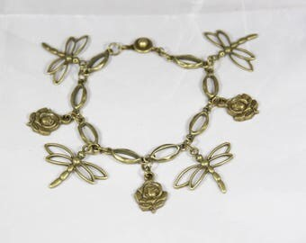 beautiful bronze metal bracelet