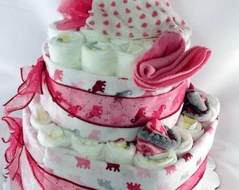 Diaper cake 2 Tier