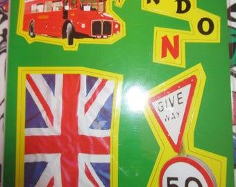 English London magnet Board