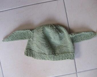 The Star Wars Yoda Hat child pistachio color
