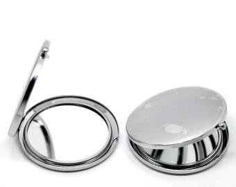 1 Pocket 7.7x7cm makeup mirror