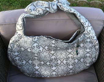 "Bag large art deco ""mosaic"" pattern pattern"
