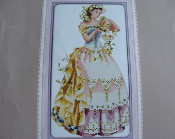 """Counted cross-stitch """"Lady"""" - new Embroidery Kit"""