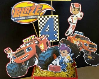 Custom Blaze and the Monster Machines Order