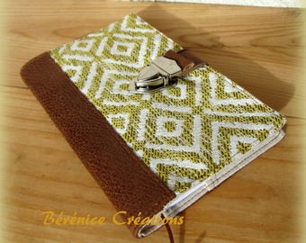 Protects notebook / Notepad retro mustard yellow
