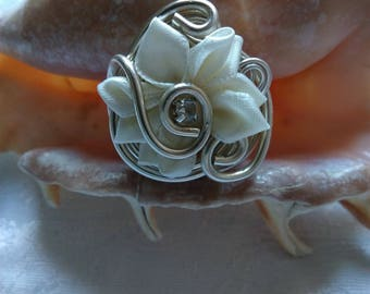ring made of fabric and aluminum wire