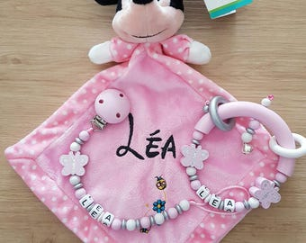 Minnie package customized to the child's name
