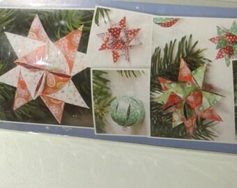 Strips of paper Christmas Fröbel stars and balls of Christmas 1