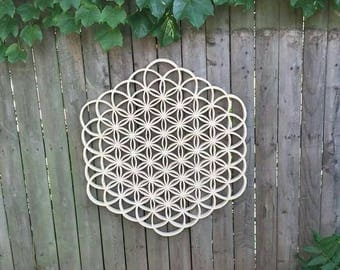 Expanded Flower of Life (Hand made)