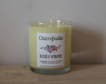 Candle of atmosphere to ►chevrefeuille◄ soy wax