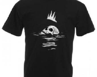 T-shirt men printed skull, SKULL
