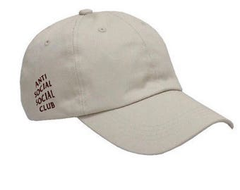 Off white anti social social club dad hat
