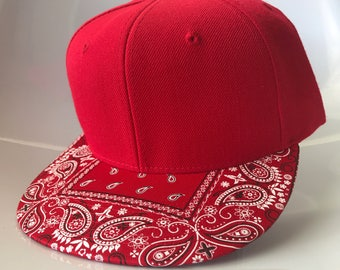 Red Bandana Cap
