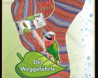 "Opal sock yarn ""adventure rainforest XIII"" F 9463 (the companion)"