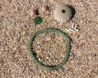Bracelet aventurine beads 4 mm