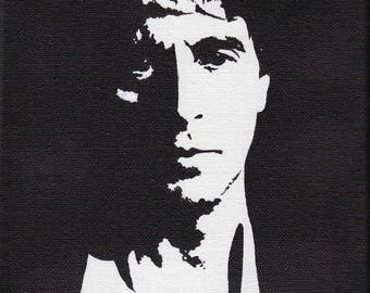 Acrylic paint in black and white - Al Pacino